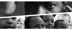 fotografía del cartel para las jornadas sida, áfrica y desarrollo